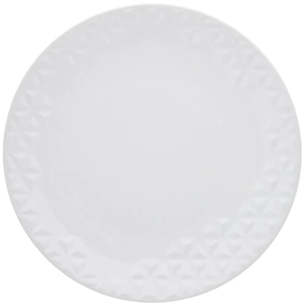 Prato Raso Mia Chef Porcelana Oxford 28,5cm