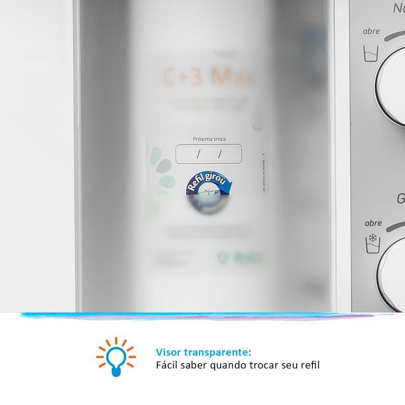 Purificador de Água Cor Branca Viváx Max IBBL Água Gelada e Natural 127V