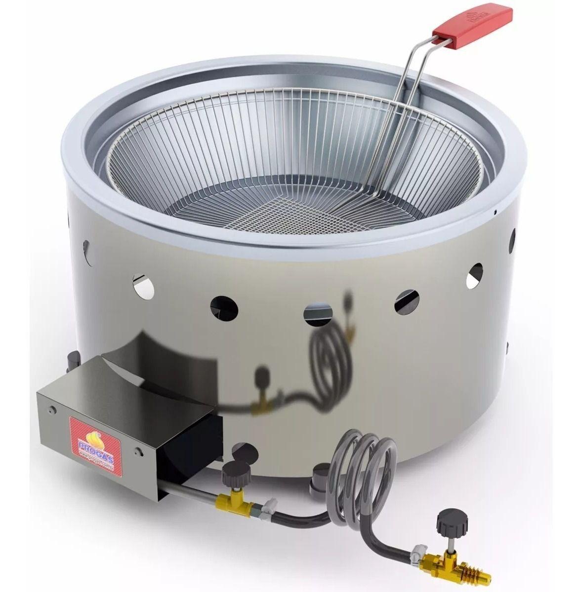Tacho/Fritador Progás 7L a Gás PR-70G G2