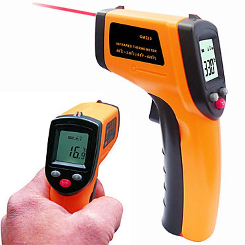 Termômetro Laser Digital Infra Vermelho -50° a 380°C