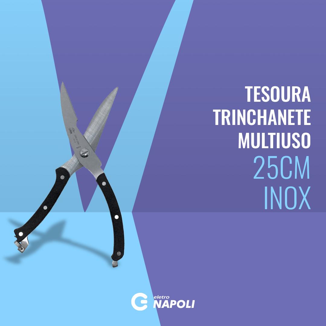 Tesoura Trinchanete Multiuso Day by Day 250mm Inox