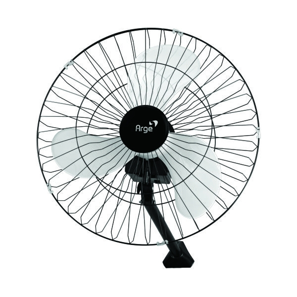 Ventilador Oscilante de Parede Max 60cm Preto 200W Bivolt - Arge