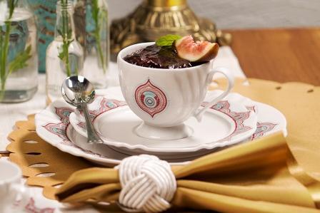 Xícara de Chá Soleil Talismã Oxford Porcelanas