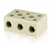 Conector porcelana Tripolar 10,00mm²