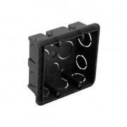 Caixa Embutir  4x4 PVC para Alvenaria Preta - Pial Legrand