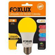 Lâmpada super LED A60 7W E-27 BIVOLT FOXLUX