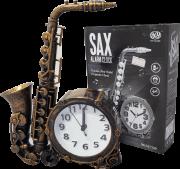 Relógio Despertador Saxofone HX 3841