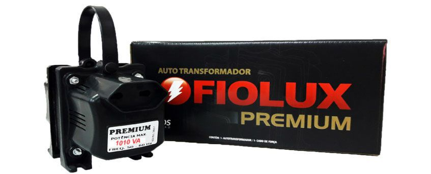 Autotrafo AT 1500 BIVOLT 127V / 220V - FIOLUX