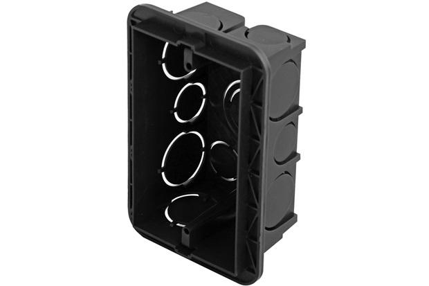 Caixa Embutir  4x2 PVC para Alvenaria Preta - Pial Legrand