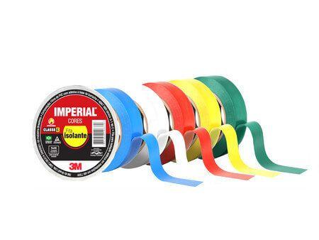 Fita Isolante 18mm x 10mts - IMPERIAL 3M