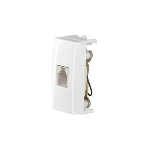 Modulo Tomada Telefone RJ11 4 Fios - Margirius - Sleek