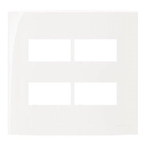 Placa 4x4 4 Modulos Separados - Margirius - Sleek