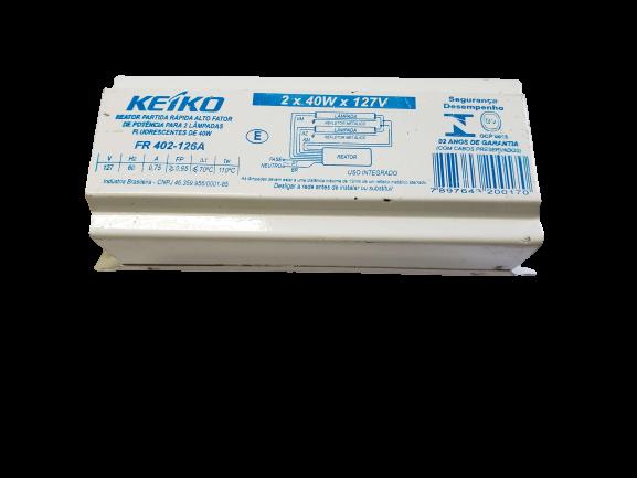 Reator Eletromagnético 2x40x127v - KEIKO