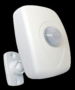 Sensor Presença Parede 180G c/ FOTOC QA21M -Qualitronix