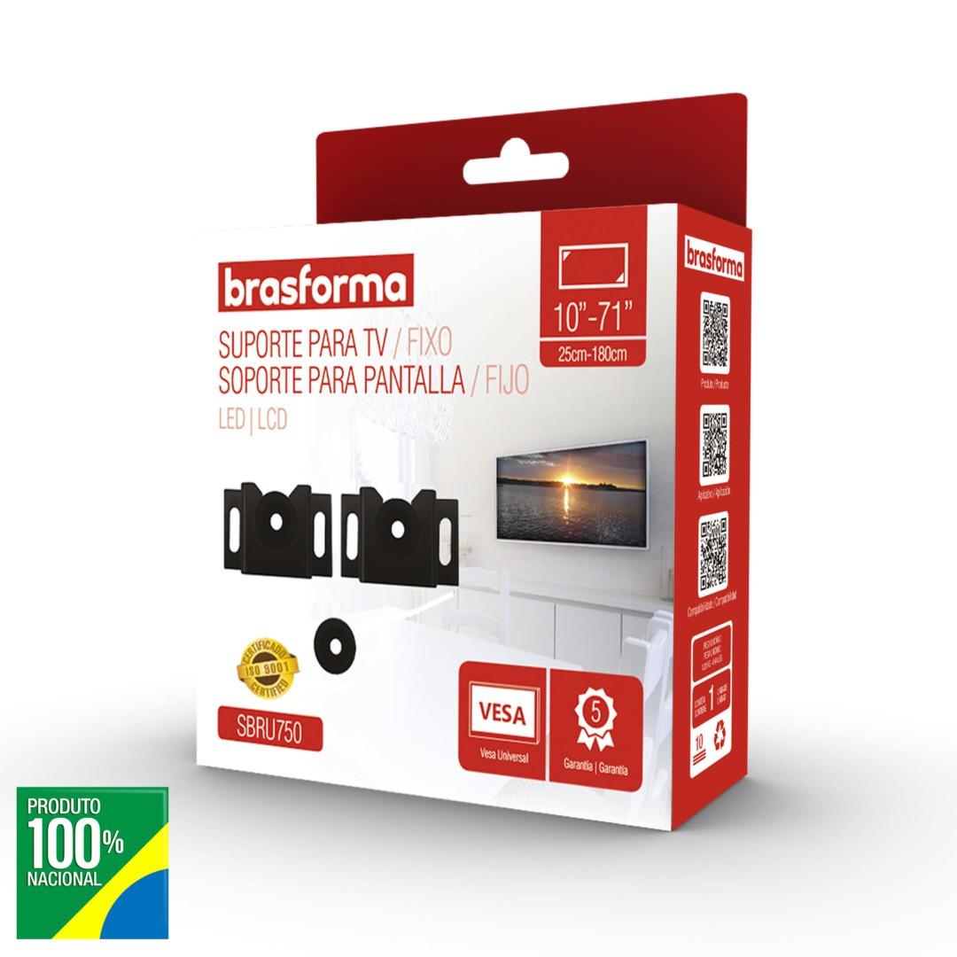 Suporte TV Universal LCD / LED 10 a 71 - Brasforma - SBRU750
