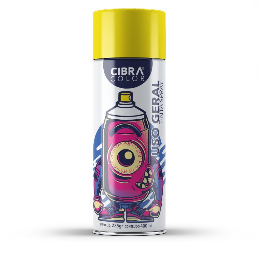 Tinta Spray 400ML - CIBRA