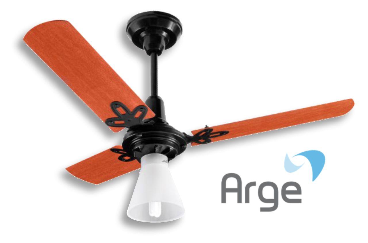 Ventilador Teto ARGE - Economic Ventus 3 pas 127V