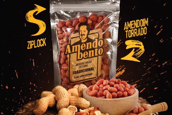 AMENDOIM TORRADO TRADICIONAL - AMENDOBENTO