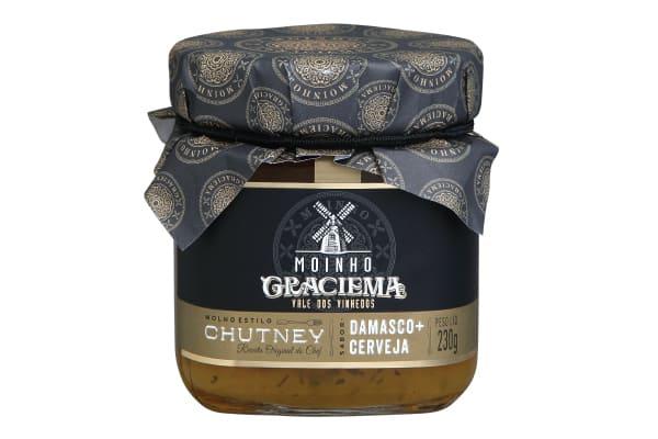 CHUTNEY DE DAMASCO COM CERVEJA - MOINHO GRACIEMA
