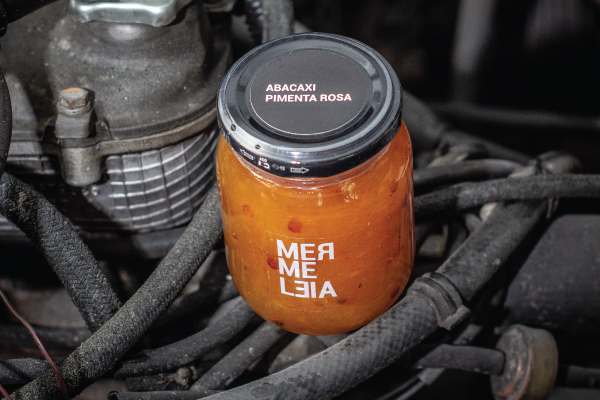 GELEIA DE ABACAXI COM PIMENTA ROSA - MERMELEIA