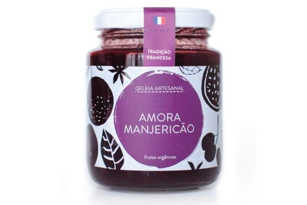 GELEIA DE AMORA COM MANJERICÃO - DOUCEUR DO CÉU
