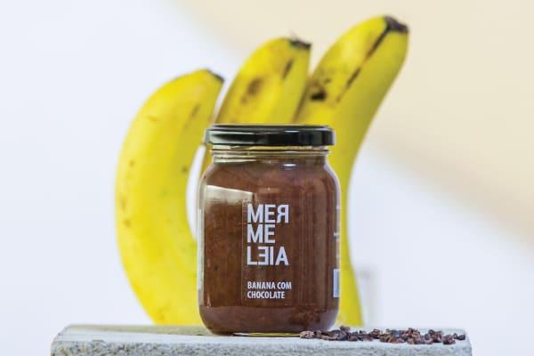 GELEIA DE BANANA COM CHOCOLATE - MERMELEIA