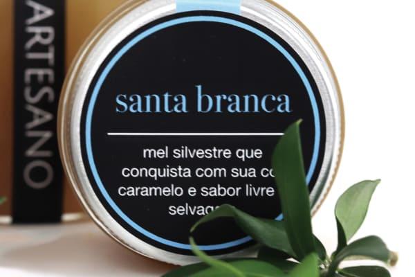 MEL SANTA BRANCA - ARTESANO