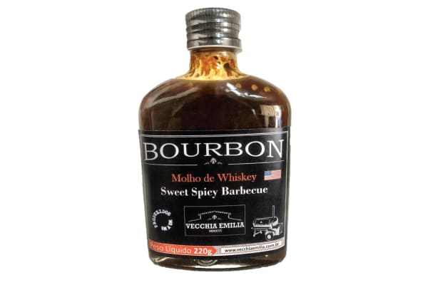 MOLHO BARBECUE BOURBON COM WHISKEY - VECCHIA EMILIA