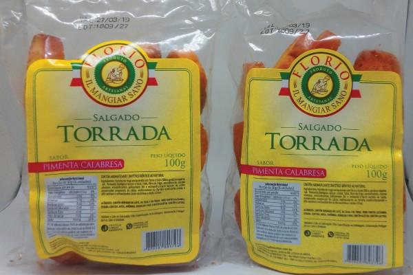 TORRADA ARTESANAL DE PIMENTA CALABRESA - FLORIO