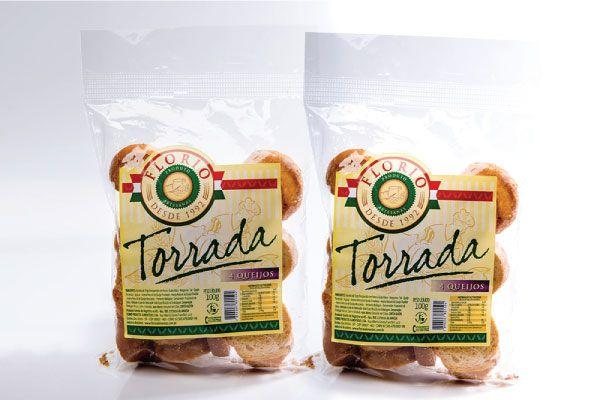 TORRADA ARTESANAL DE 4 QUEIJOS - FLORIO