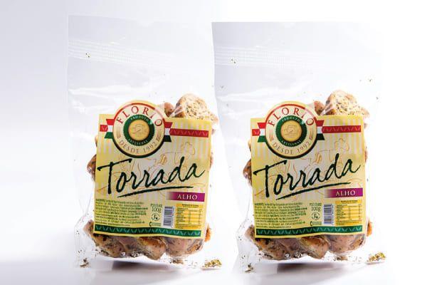 TORRADA ARTESANAL DE ALHO - FLORIO