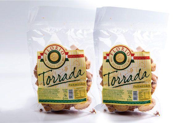 TORRADA ARTESANAL DE PARMESÃO - FLORIO