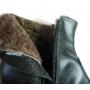 Bota para Neve e Frio Forrada com Lã de Carneiro e Couro legítimo. ( Mod.Snow Lis)