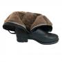 Bota Plus Size  Forrada para neve em lã de carneiro ( mod. Dinamarca)