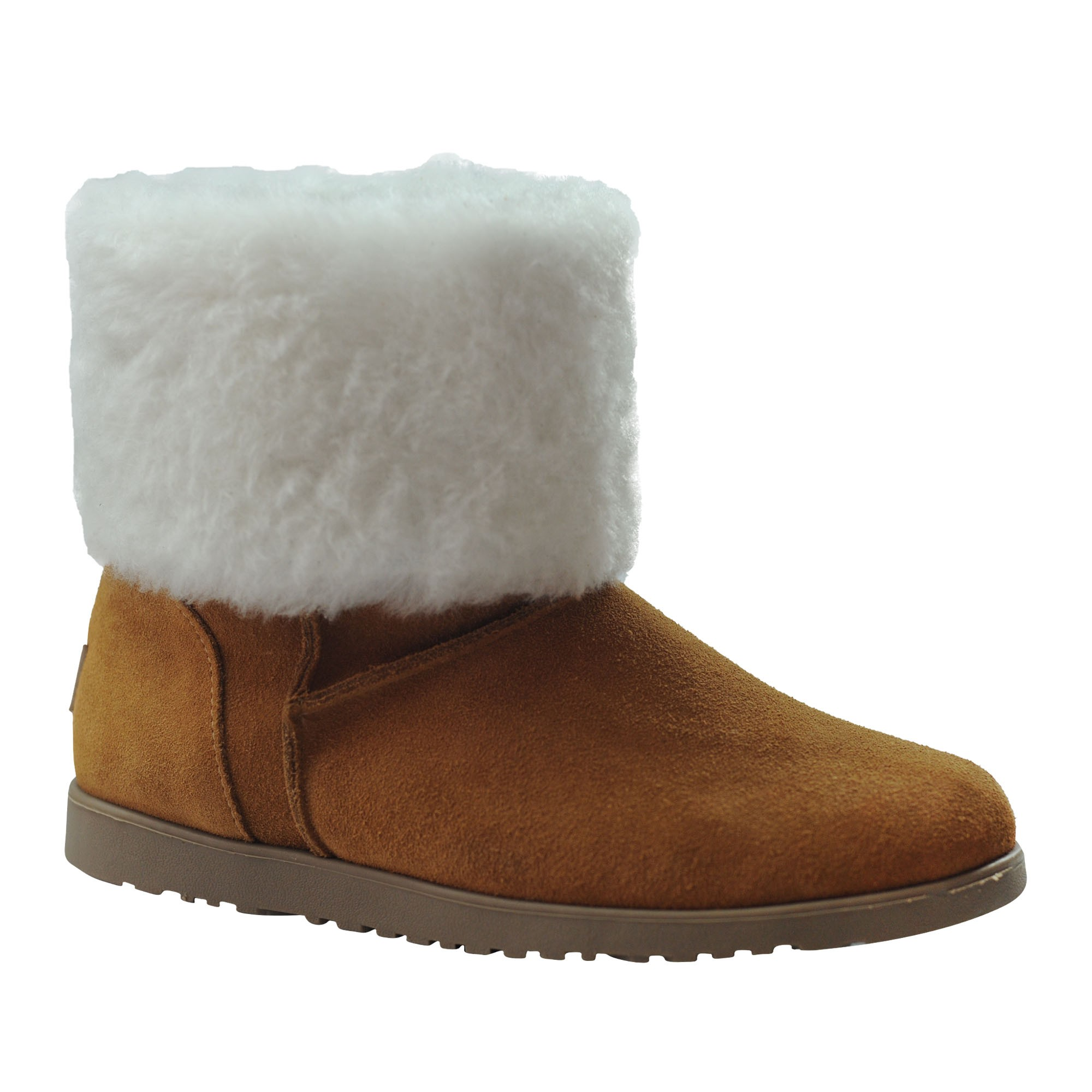 Bota Forrada para Neve Feminina Australian em lã de Carneiro. (Mod. Australian)