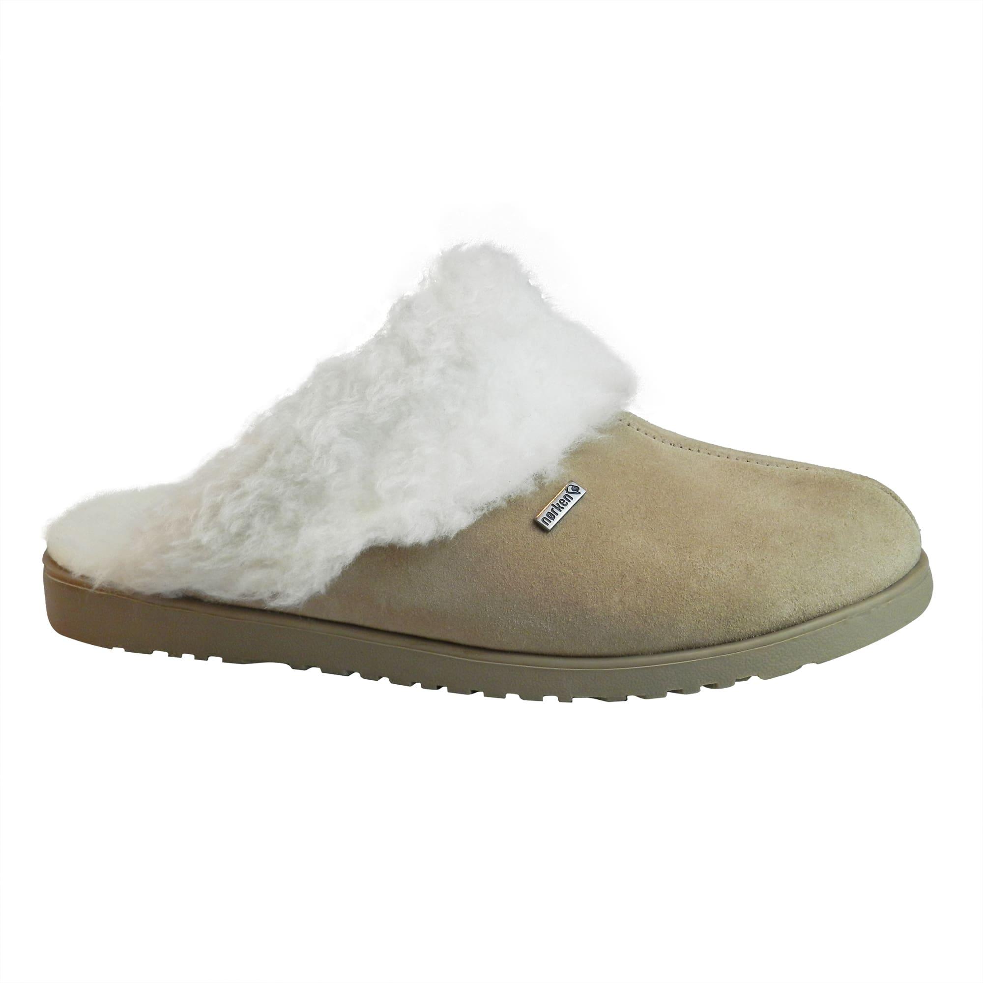 Pantufa Copenhage  toda forrada em lã de carneiro (Mod.PCA)