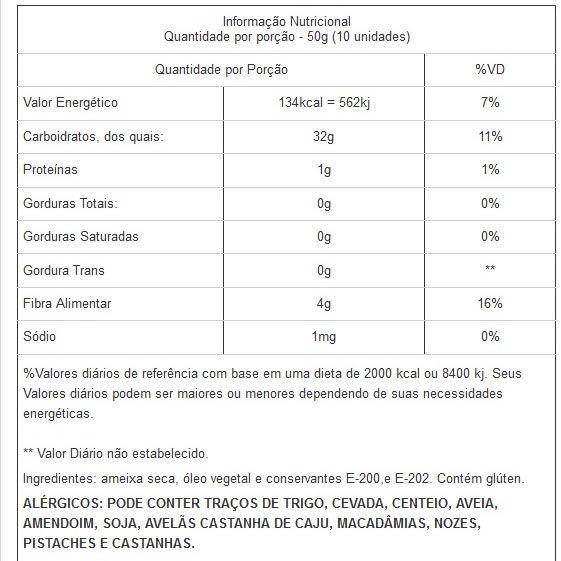 Ameixa Seca sem Caroço Viva Salute - 500 g