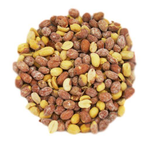 Amendoim Torrado Com Pele e Com Sal - 1Kg
