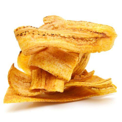 Banana Chips Salgada 500g - Viva Salute
