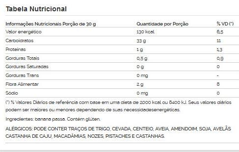 Banana Passa Viva Salute - 1kg