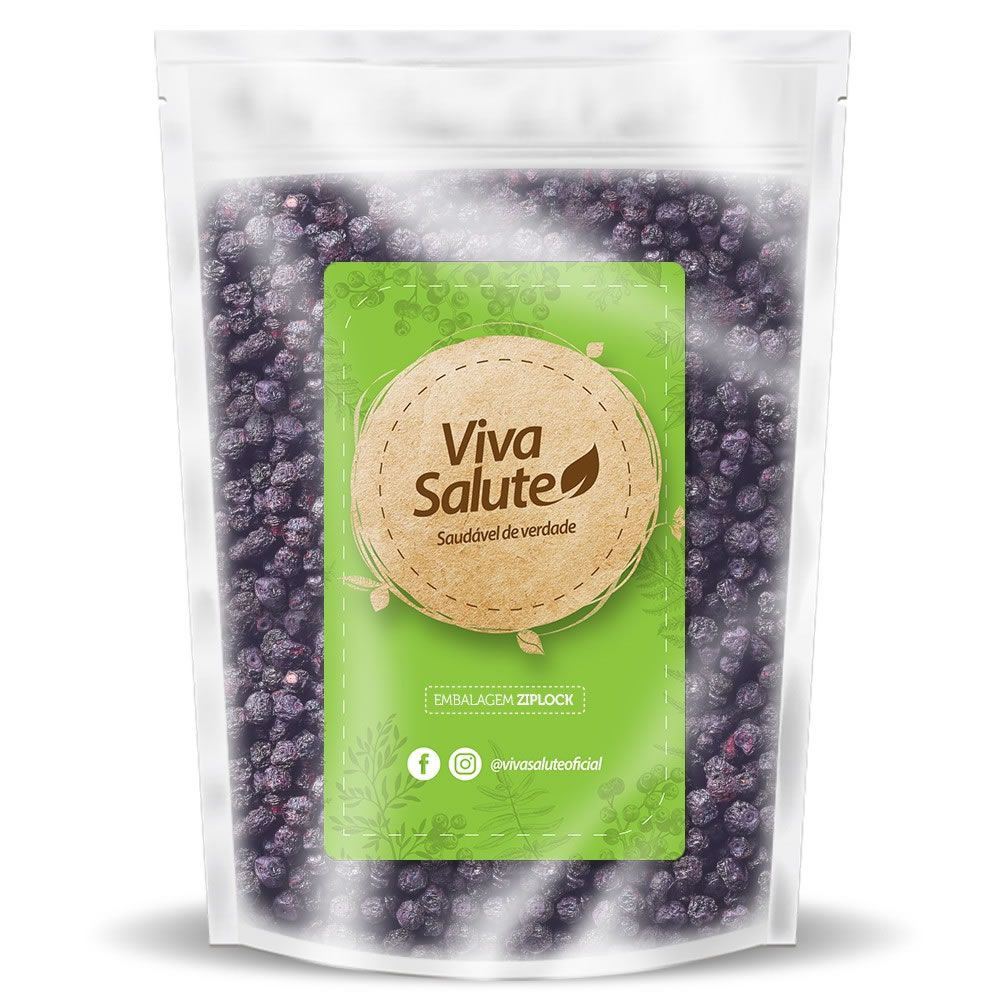 Blueberry (Mirtilo) Desidratado Viva Salute - 500g