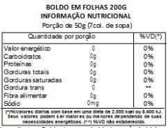 Boldo pra Chá - 200 g