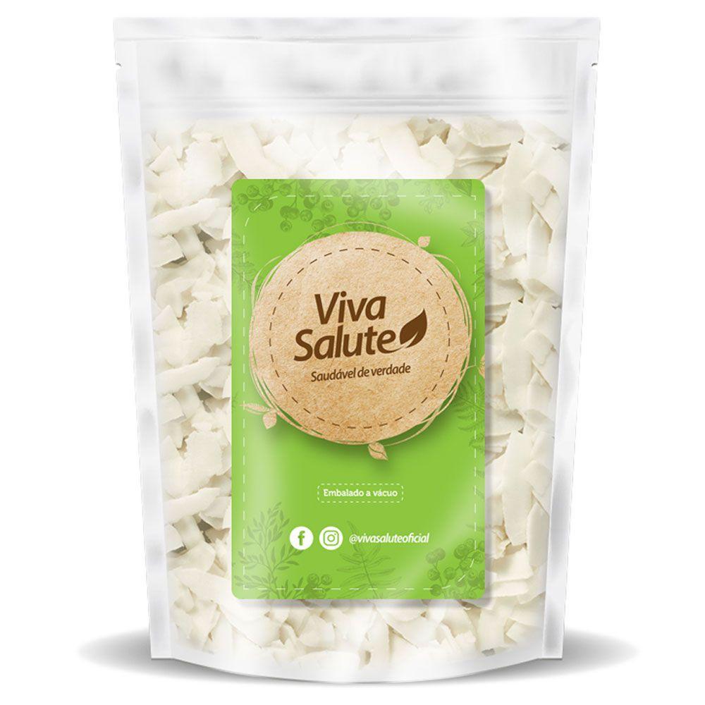 Chips de Coco (Natural) Viva Salute a Vácuo - 500g