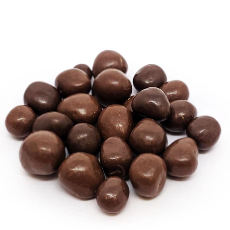 Chocolate Dragee de Banana Passa - zero açúcar - 100g