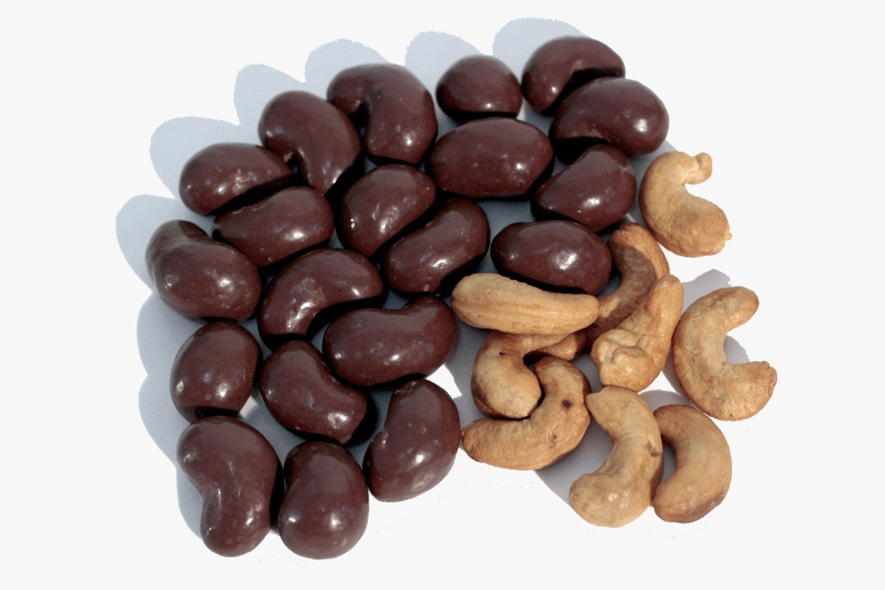 Chocolate Dragee de Castanha de caju - ao leite - 100g