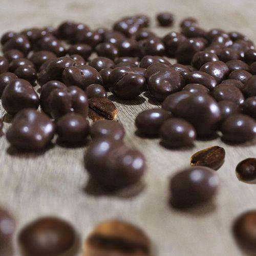 Chocolate Dragee de Grãos de café - ao leite - 200g