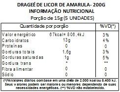Chocolate Dragee de Licor de Amarula - ao leite - 200g