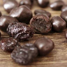 Chocolate Dragee de Uva passa - ao leite - 100g
