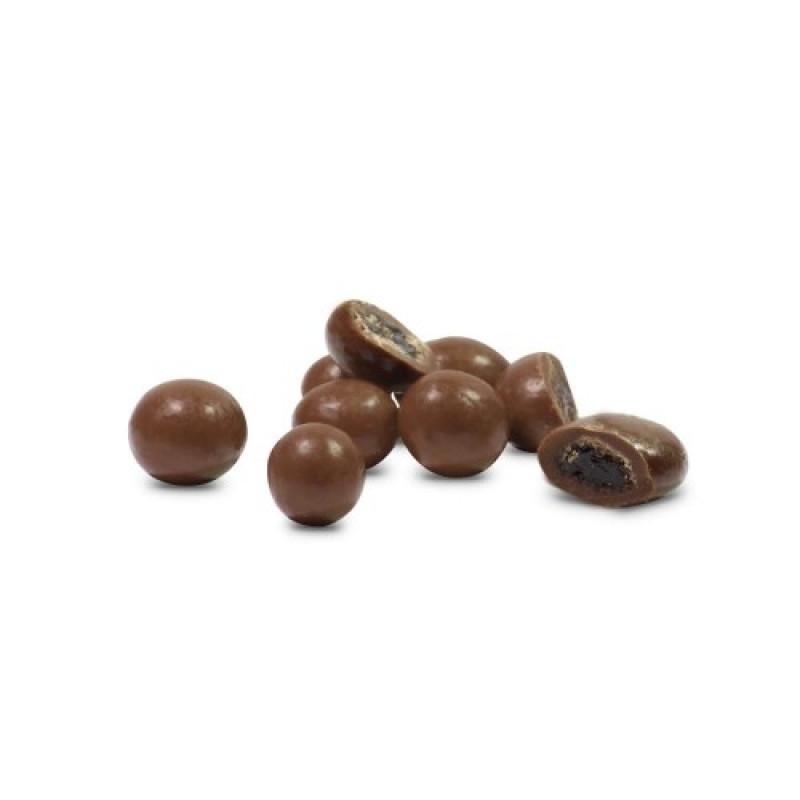 Chocolate Dragee de Uva Passa - zero açúcar