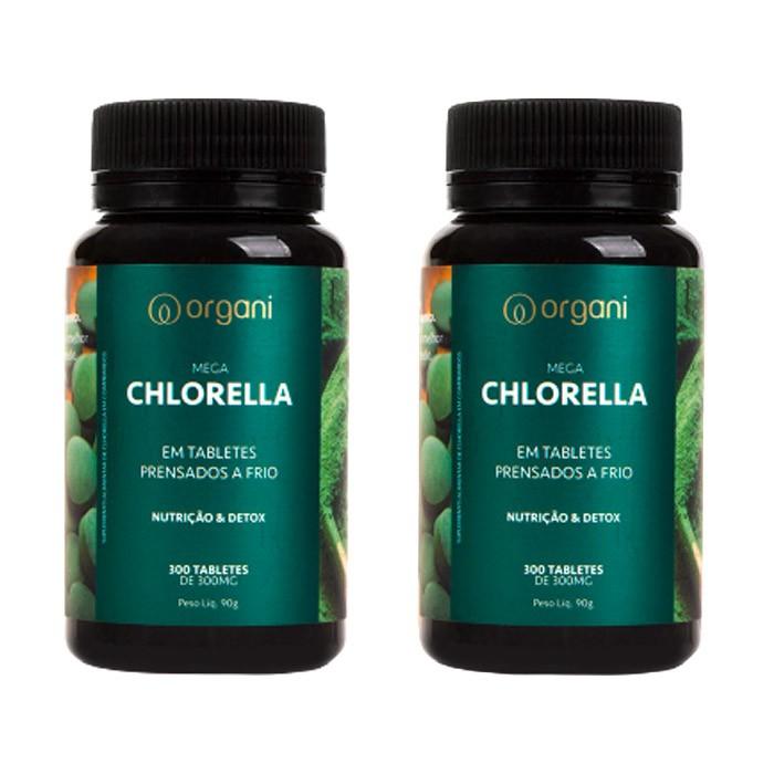 COMBO 2x Chlorella Organi